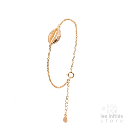 Les Initiés shell bracelet - Rose gold plated 925 Sterling Silver