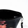Trousse à maquillage doublée Les Initiés black woman créoles