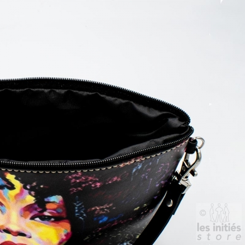 Trousse à maquillage Les Initiés black disco woman