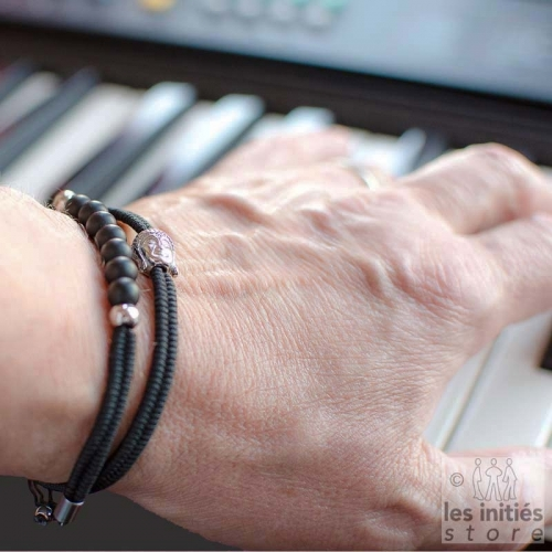Bracelet homme bouddha