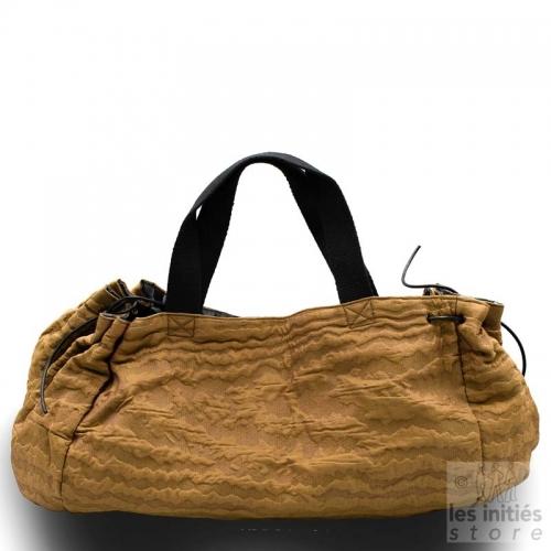 Maxi handbag handmade designer - Brown