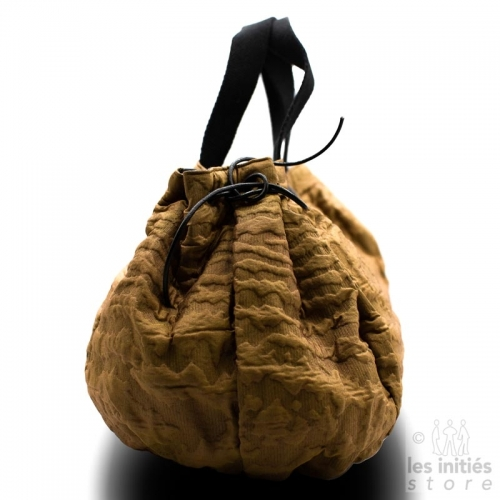 Maxi sac fait main créateur - Marron