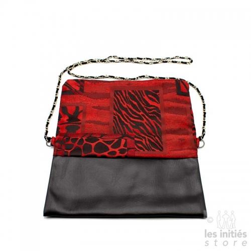 sac de soirée rouge