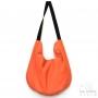 Sac caba réversible de créateur motif Iris - Orange