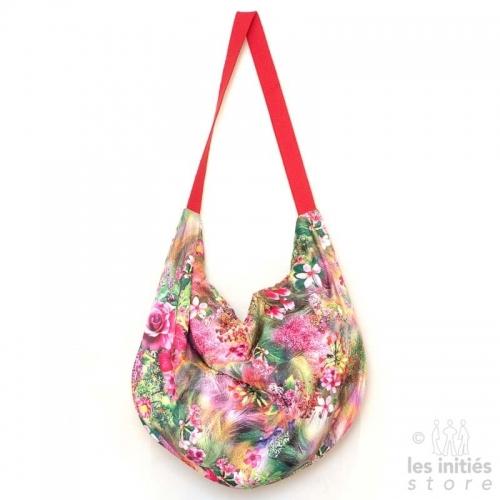 sac à fleur fait main