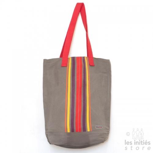 reversible khaki bag