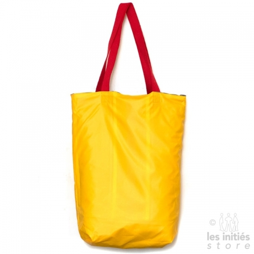 yellow beach bag