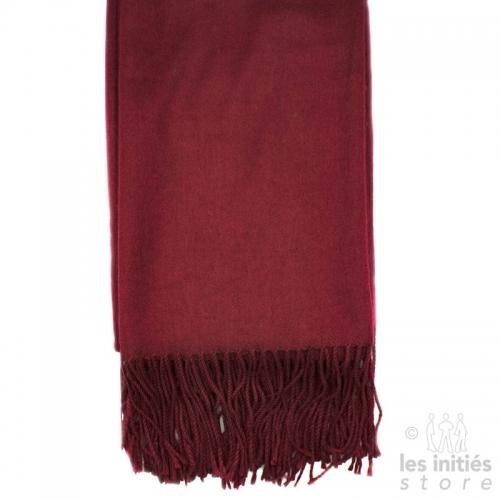 Cashmere scarf - Burgundy