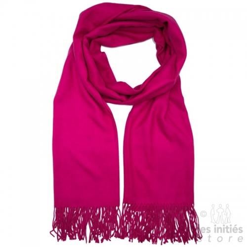 Cashmere scarf - Fuchsia