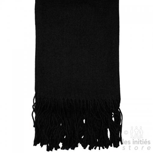 Cashmere scarf - Noir