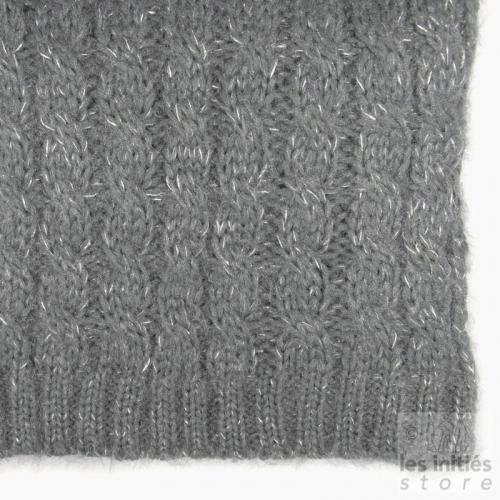 Mohair scarf - Grey