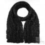 Mohair scarf - Noir