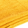 Grande écharpe épaisse unie - Ocre