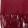 warm burgundy scarf