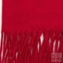 Echarpe cachemire - Rouge