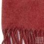 Echarpe cachemire - Rouge chiné