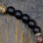 black and brown pearl bracelet