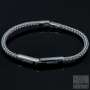 Grey luxury men bracelet