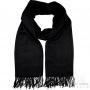 Cashmere scarf - Black