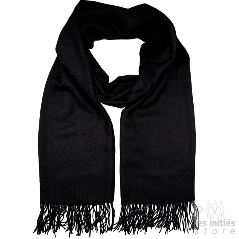 Echarpe cachemire - Noir