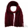 Mohair scarf - Burgundy