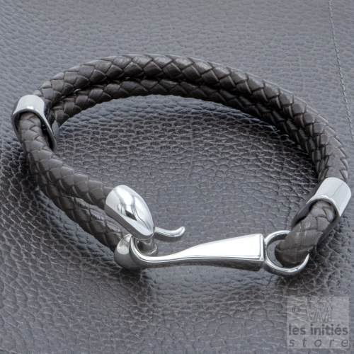 best leather fish hook bracelet