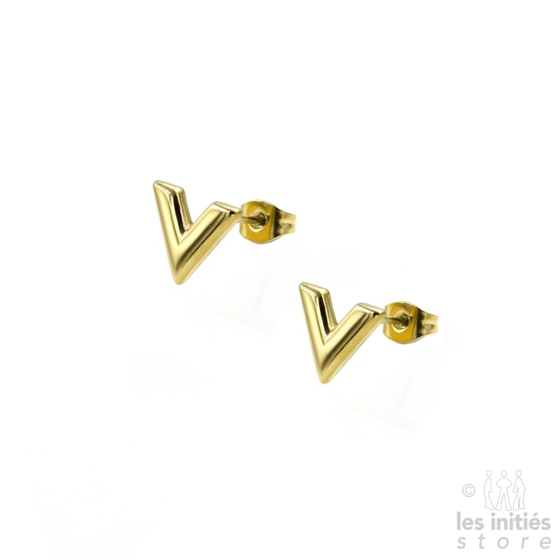 bts V shape earrings