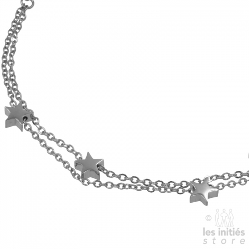 chaîne de pied étoiles