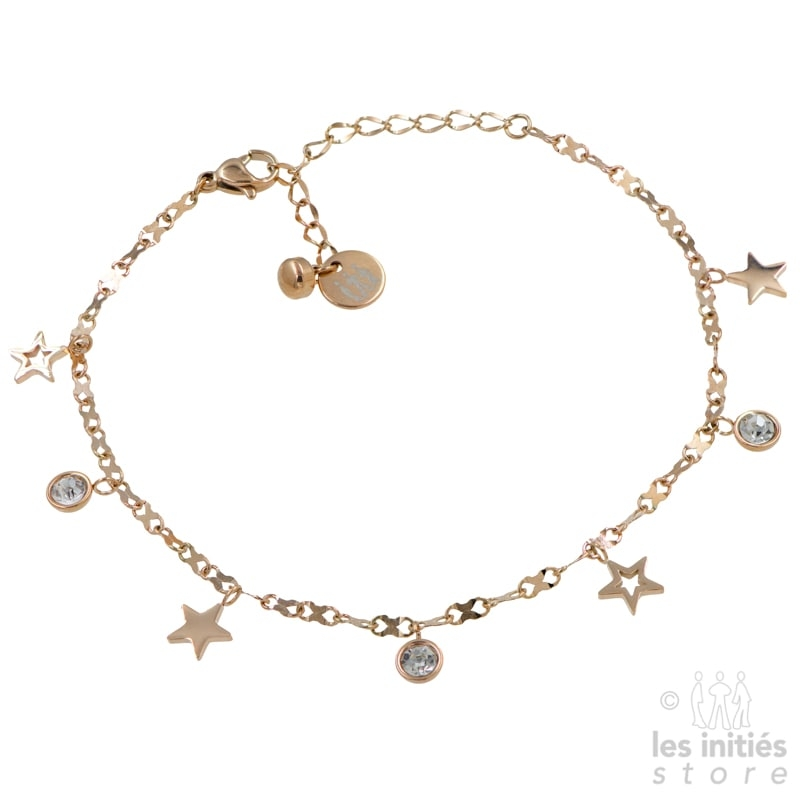 rose gold ankle bracelet