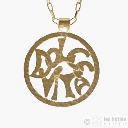 Gold Rapper necklace