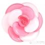 Bague fleur plastique