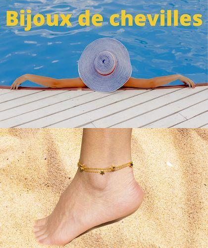 Bracelets de chevilles